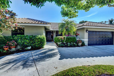 Boca Raton Single Family Home For Sale: 5107 Marina Circle