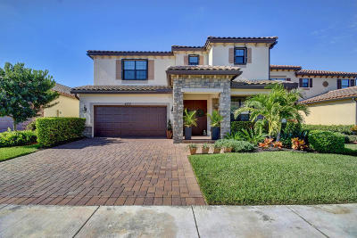 Lake Worth Single Family Home For Sale: 4577 Willow Run Way