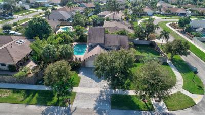 Boca Raton Single Family Home For Sale: 4140 Woods End Road