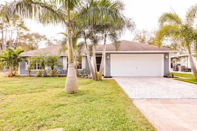 Fort Pierce Single Family Home Contingent: 5505 Killarney Avenue