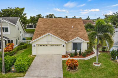 Delray Beach Single Family Home Contingent: 7824 Lake Champlain Court