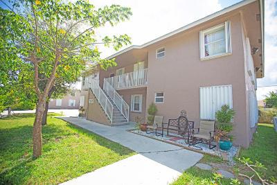 Boynton Beach Multi Family Home Contingent: 2107 SE 3rd Street #A