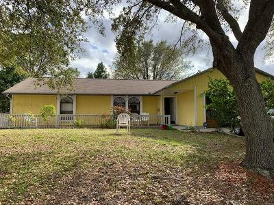 Port Saint Lucie Single Family Home For Sale: 1092 SW Alcantarra Boulevard