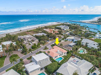 Jupiter Single Family Home Contingent: 27 Ocean Drive