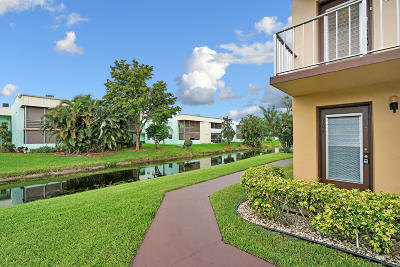Delray Beach Condo For Sale: 504 Normandy K