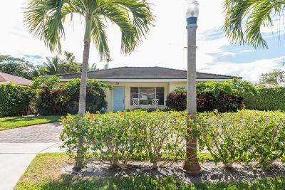 West Palm Beach Single Family Home For Sale: 260 Pilgrim Road