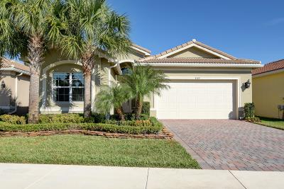 Boynton Beach Single Family Home For Sale: 8189 Mount Thor Lane
