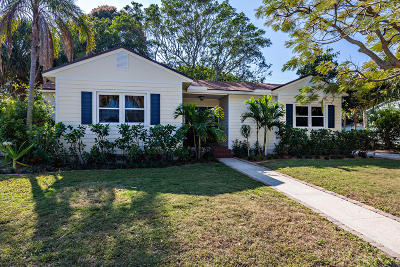 West Palm Beach Single Family Home For Sale: 304 30th Street