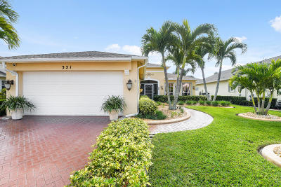 Port Saint Lucie Single Family Home For Sale: 321 SW North Shore Boulevard