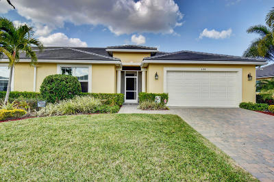 Port Saint Lucie Single Family Home For Sale: 6188 NW Cullen Way