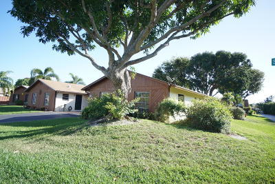 Boynton Beach Single Family Home For Sale: 500 SE 27th Way