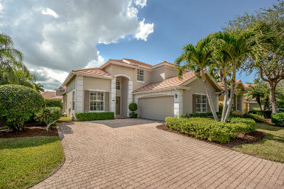West Palm Beach Single Family Home For Sale: 8361 Heritage Club Drive