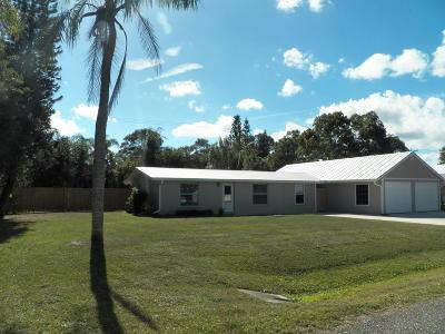 Stuart Single Family Home For Sale: 3808 SE Lower Street
