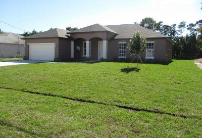 Port Saint Lucie Single Family Home For Sale: 2284 SE Grand Drive