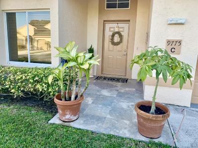 Boca Raton Single Family Home For Sale: 9775 Boca Gardens Circle #C