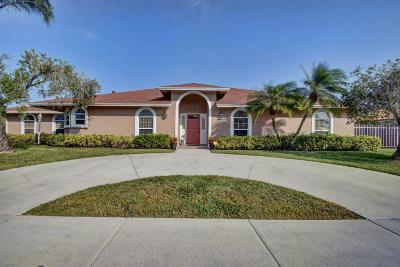West Palm Beach Single Family Home For Sale: 2635 Starwood Circle