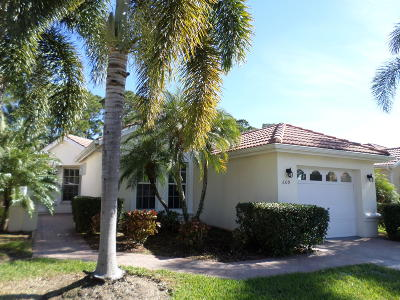 Port Saint Lucie Single Family Home For Sale: 609 SW Treasure Cove