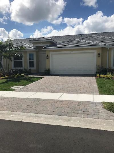 Port Saint Lucie Single Family Home For Sale: 6141 NW Denmore Lane