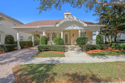 Jupiter Single Family Home For Sale: 138 Sweet Bay Circle