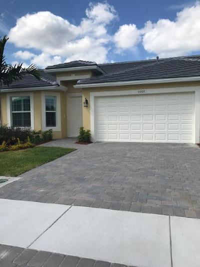 Port Saint Lucie Single Family Home For Sale: 6082 NW Cullen Way