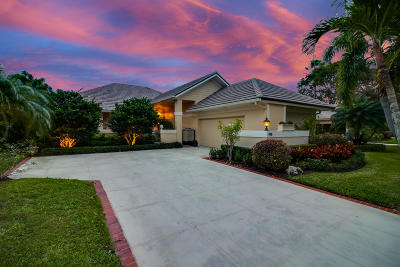 Palm Beach Gardens Single Family Home For Sale: 118 Coventry Place