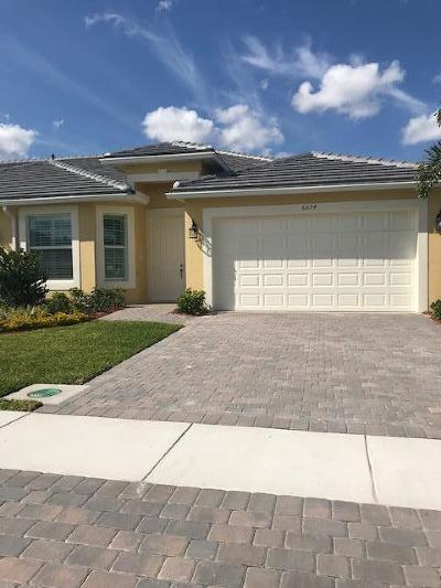 Port Saint Lucie Single Family Home For Sale: 6074 NW Cullen Way