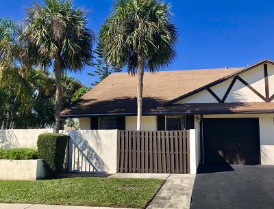 Delray Beach FL Single Family Home For Sale: $234,900