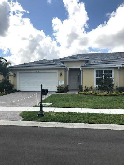 Port Saint Lucie Single Family Home For Sale: 6133 NW Denmore Lane