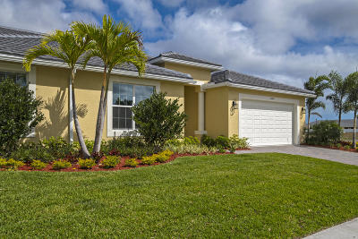 Port Saint Lucie Single Family Home For Sale: 6149 NW Denmore Lane