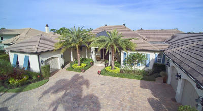 Hobe Sound Single Family Home For Sale: 9959 SE Sandpine Lane