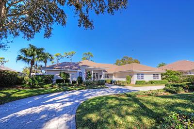 Stuart Single Family Home For Sale: 6245 SE Oakmont Place