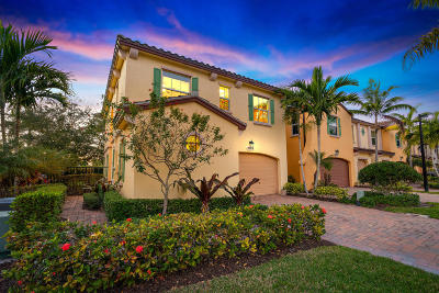 Palm Beach Gardens Townhouse For Sale: 4503 Mediterranean Circle
