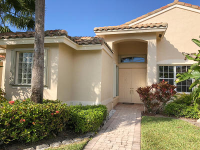 Boynton Beach Single Family Home For Sale: 6639 Maggiore Drive