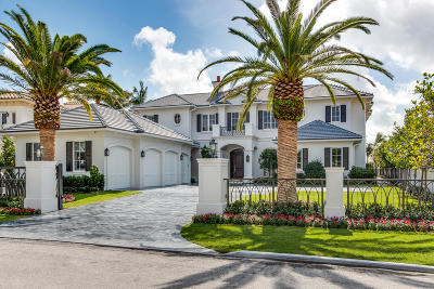 Boca Raton Single Family Home Sold: 312 E Coconut Palm Road