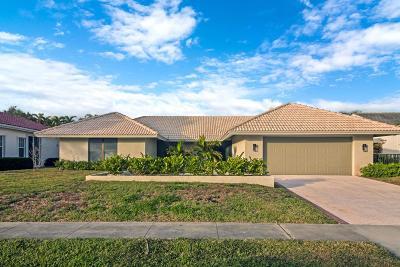 Delray Beach FL Single Family Home For Sale: $349,900
