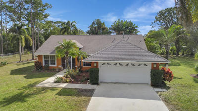 West Palm Beach Single Family Home For Sale: 14920 95th Lane