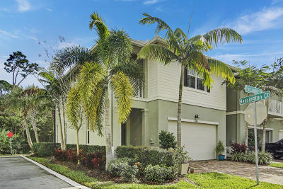 Palm Beach Gardens Townhouse For Sale: 1144 Piccadilly Street