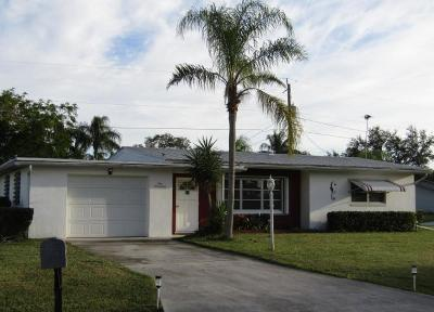 Port Saint Lucie Single Family Home For Sale: 117 W Aldea Street