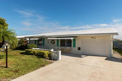 Boynton Beach Single Family Home For Sale: 816 SW 18th Court
