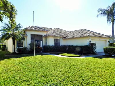Port Saint Lucie Single Family Home For Sale: 527 NW Waverly Circle