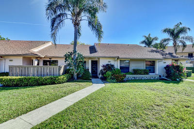 Boca Raton Single Family Home For Sale: 8408 Boca Glades Boulevard E