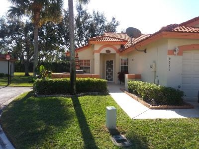 Delray Beach Single Family Home For Sale: 8052 Summer Shores Drive #8052