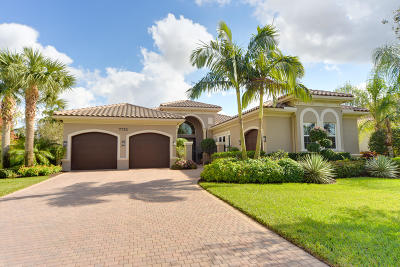 Palm Beach Gardens Single Family Home For Sale: 7752 Eden Ridge Way