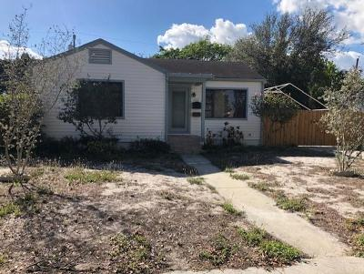 West Palm Beach Single Family Home For Sale: 702 48th Street