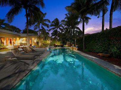 Delray Beach FL Single Family Home For Sale: $1,595,000