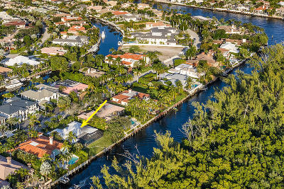 Boca Raton Single Family Home For Sale: 260 W Alexander Palm Road