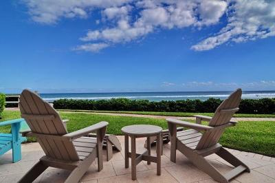 Ocean Ridge Condo For Sale: 6711 Ocean Boulevard #21