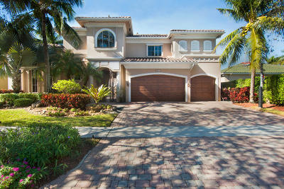 Delray Beach Single Family Home Contingent: 16281 Via Venetia E