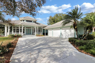 Palm City Single Family Home Contingent: 4201 SW Parkgate Boulevard