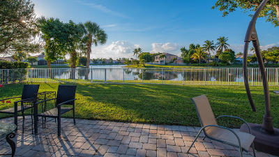 Boynton Beach Single Family Home For Sale: 7295 Chesapeake Circle